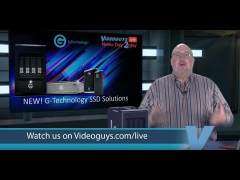 G-Technology SSD Solutions Videoguys NewsDay 2sDay Live Webinar