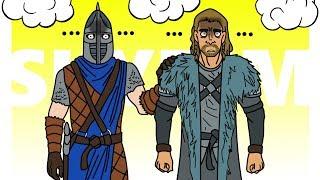 МУЛЬТИПЛЕЕР СКАЙРИМ В 2К18 : БАГИ И ПРИКОЛЫ ! | Друзья по Skyrim #1