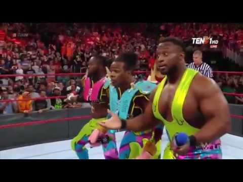 The Revival Debut on Raw 3 Arpil 2017 Raw After Wrestlemania 33