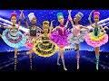 Play Doh Ballerina Barbie LOL Surprise Doll  Queen Bee Diva VRQT Rocker Kitty Queen Cosmic Queen