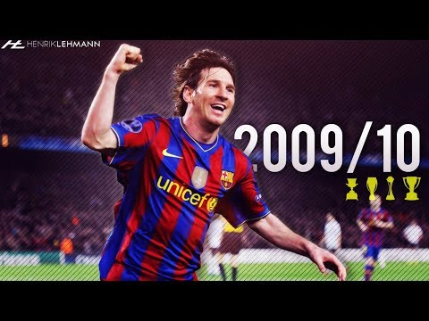 Lionel Messi ? 2009/10 ? Goals, Skills & Assists
