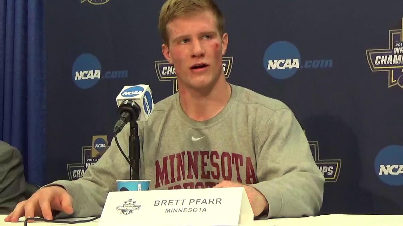 Brett Pfarr Was Expecting A High Scoring Match Against
