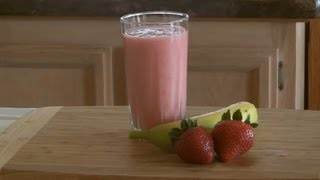 Non-dairy, Banana-strawberry Smoothie : Smoothies