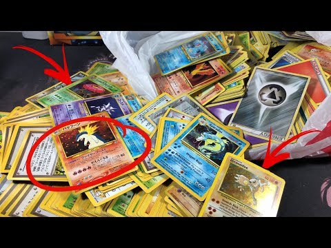 FOUND THE RAREST VINTAGE POKEMON CARDS FROM AN EBAY LOT!