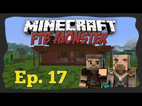 Let's Play FtB Monster - 17. osa - Puhastustööd