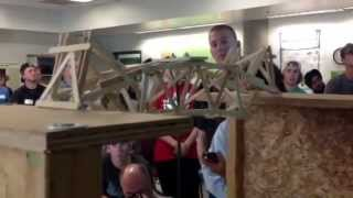 Popsicle Stick Bridge Competition