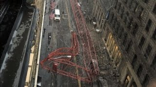 1 Person Killed, Others Injured After Construction Crane Collapses In NYC
