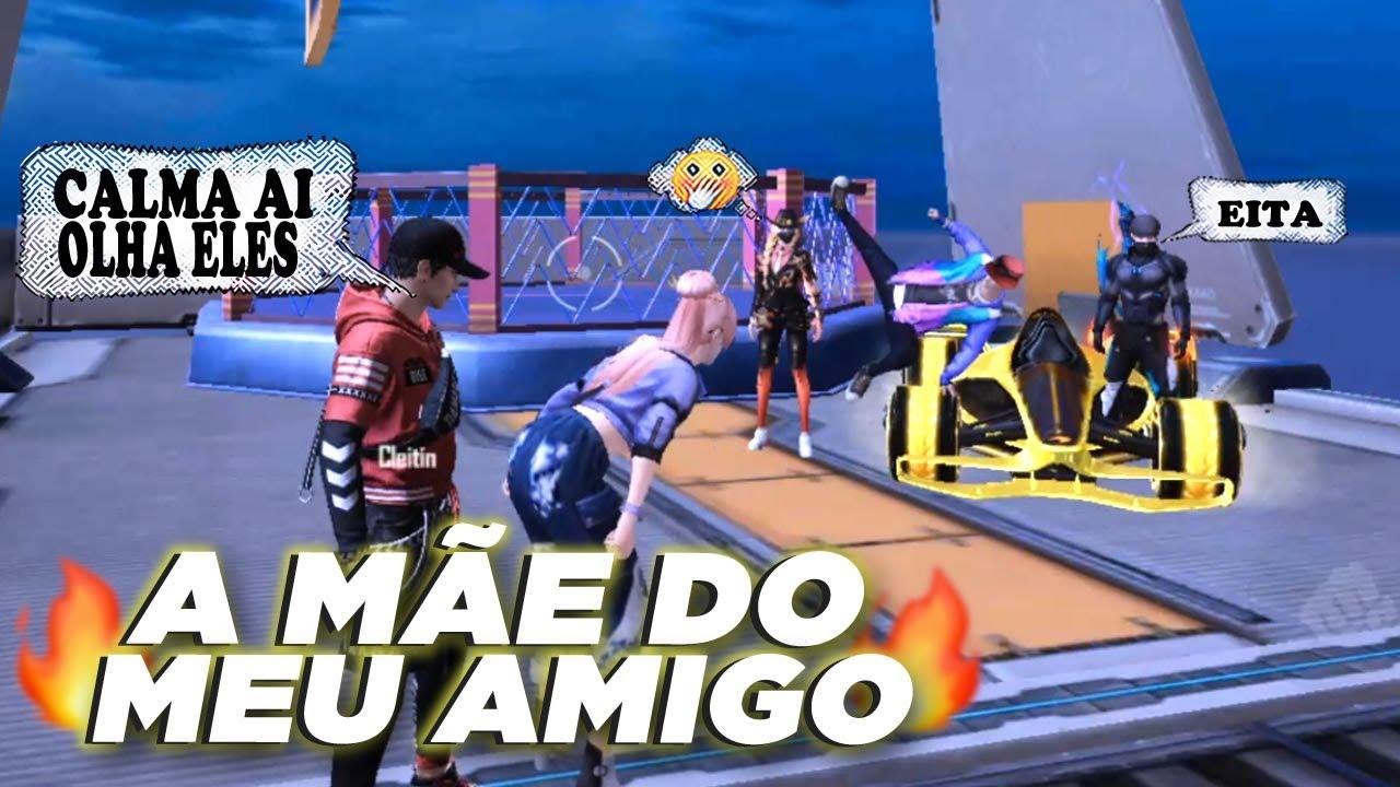 PEGUEI A MÃE DO MEU AMIGO (EP 125) - FREE FIRE HISTÓRIA