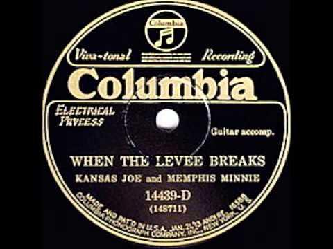 Kansas Joe McCoy & Memphis Minnie - When the Levee Breaks (1929)
