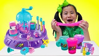 Jannie Pretend Play Making Satisfying Colorful Clear D Y Slime