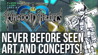 Kingdom Hearts - Never Before Seen Art and Concepts!