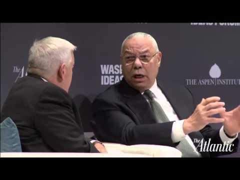 Colin Powell / Washington Ideas Forum 2015
