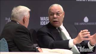 Colin Powell / Washington Ideas Forum 2015