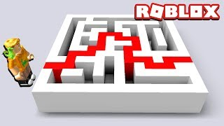 ROBLOX MAZE ESCAPE ROUTE