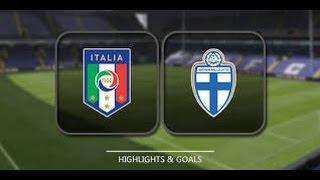 FIFA 16 Italy Vs Finland