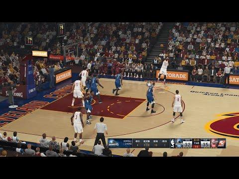 NBA 2K15 Minnesota Timberwolves Vs Cleveland Cavaliers 24-12-2014