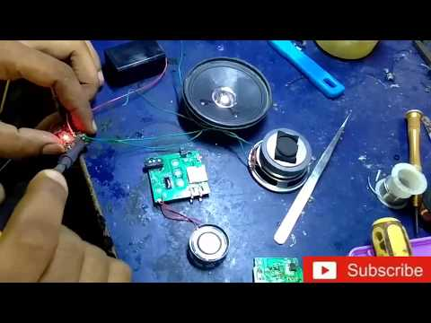 How To Make A Mini Powerful Doorbell Circuit.A Simple Musical Doorbell.Melodious Ringing