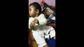Cutie pie doing Bhangra...😘😘😘