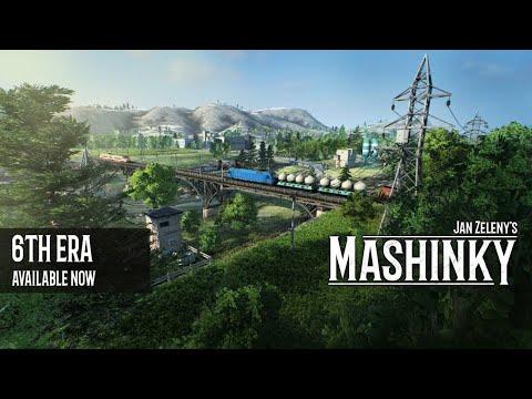 Mashinky (лучшая стратегия про поезда)