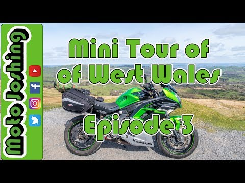 Mini Tour of West Wales - St Davids - Newport - Cardigan - Bikers Accommodation - @motojoshing