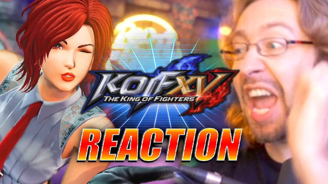MAX REACTS: WHY ISN'T IT ROCK HOWARD? Vanessa - King Of Fighters XV Trailer
