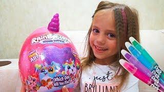 Покрасили волосы Наш новый ПИТОМЕЦ из яйца ПОДАРКИ как в День Рождения ВЛОГ