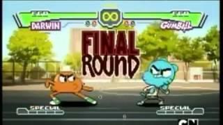 - el increible mundo de gumball pelea darwin vs gumball