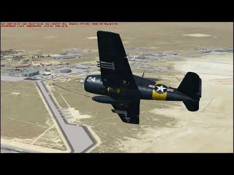 Flight Sim Historian Episode CLII: Grumman F6F Hellcat (FSX:SE)