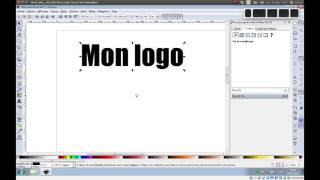 Tuto vidéo : Utiliser les textes dans Inkscape