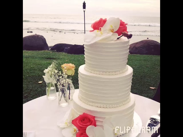 Byron and Sina's Vintage Maui Wedding