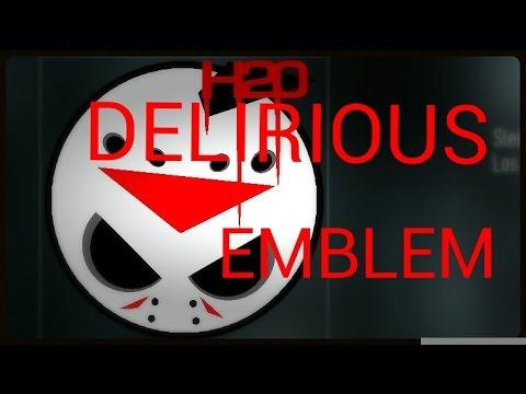 H20 DELIRIOUS EMBLEM - Call of duty advanced warfare PS4 ... H2o Delirious Emblem
