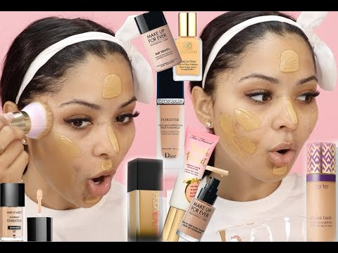 MIXING ALL MY FOUNDATIONS TOGETHER CRAZY RESULTS!