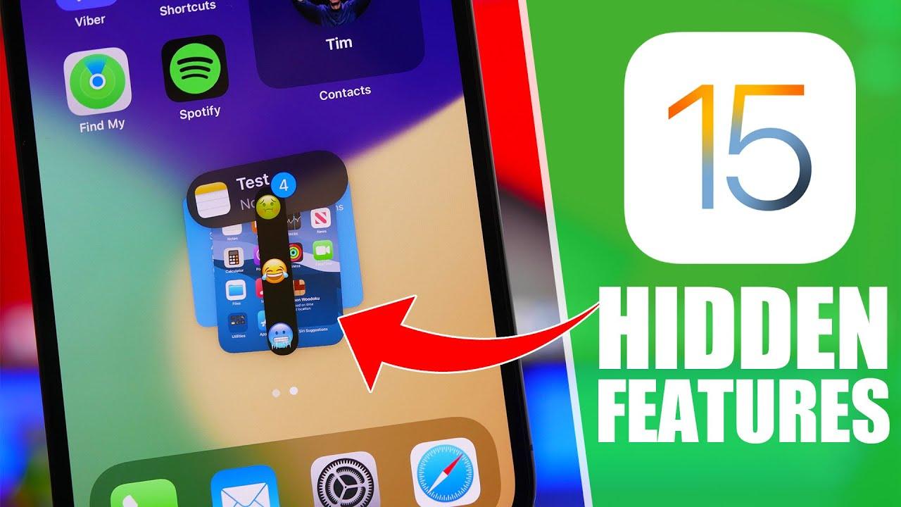 iOS 15 - 30+ Best HIDDEN Features !