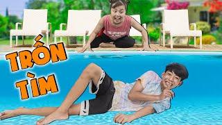 Trốn Tìm Dưới Bể Bơi ❤ KN CHENO Chị Hằng