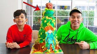 Jason preparing happy birthday party surprise