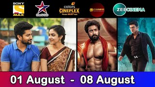 4 Upcoming New South Hindi Dubbed Movies | Confirm Release Date | Dagaalty | August 1st Week