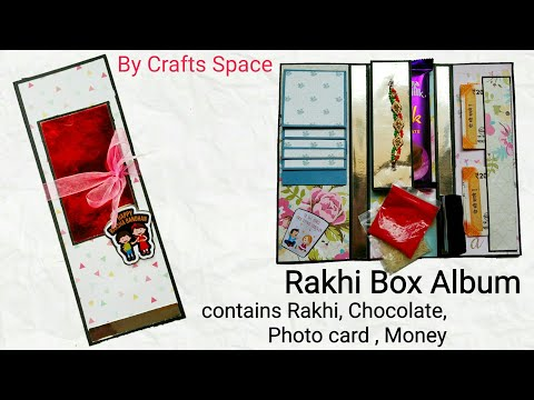 Rakhi Box Card Tutorial | Raksha Bandhan Gifts | Bhai Doj Card Tutorial | By Crafts Space