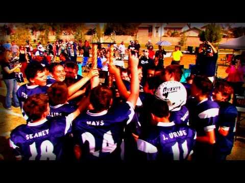"""2014 Rosedale Quakes """"A Dynasty in N.O.R. Youth Football"""""""