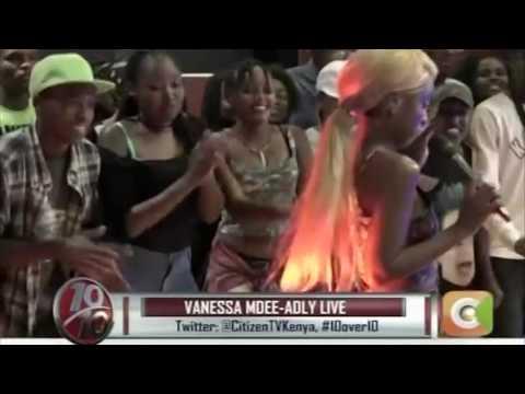Alivyoperform Vanessa Mdee kwenye kituo cha TV cha Citizen nchini  Kenya