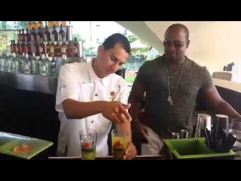 The Perfect Mojito Made At The Bacardi Factory In Puerto Rico