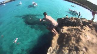 Cliff Jumping in Mallorca 2014