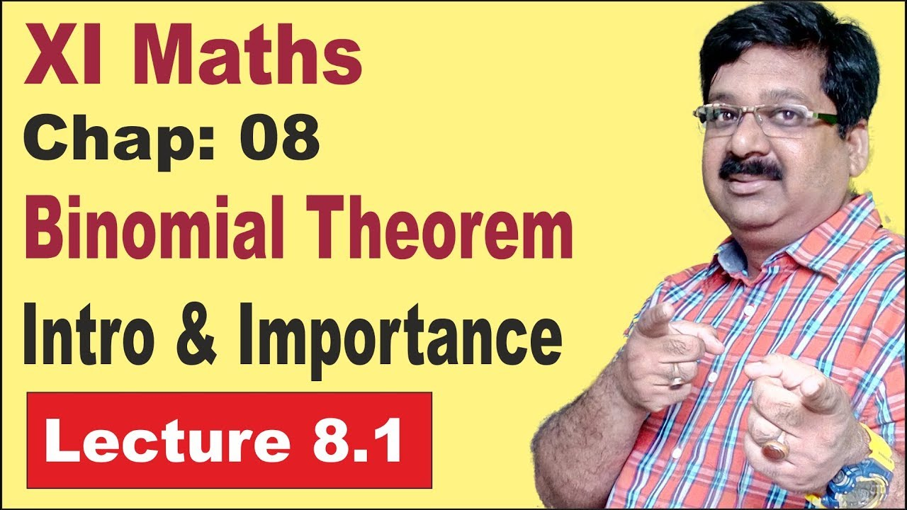 Binomial Theorem, Introduction & Importance, Hindi, Chapter 8, class 11 Maths, arvind academy, 8