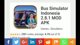 Gambar cover Cara Download Bus Simulator Indonesia Mod Apk 100% Work No Tipu!!