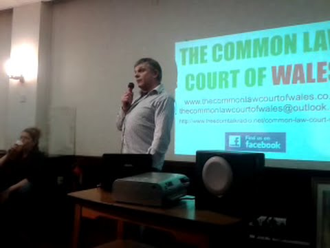 Full video of Guy Taylor at the Common Law Court of Wales, 9th December 2014