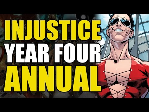 Deadlier Than Superman?! (Injustice Gods Among Us: Year Four Annual)