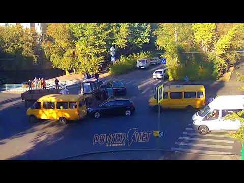 ДТП (авария г. Волжский) пр. Ленина ул. Комсомольская 11-10-2017 15-22