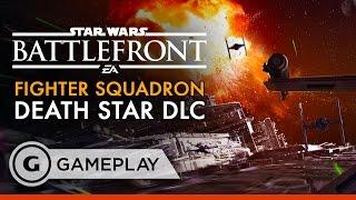 Death Star Fighter Squadron Gameplay - Star Wars Battlefront