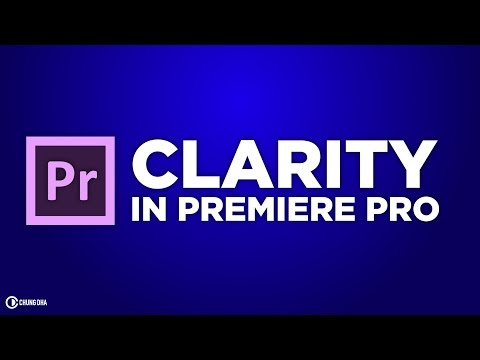 Clarity in Premiere Pro Preset Tutorial by Chung Dha