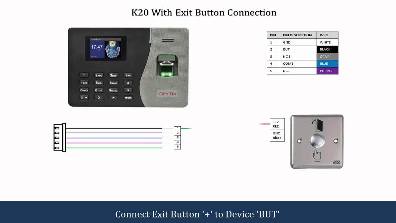 K20 Connection Diagram