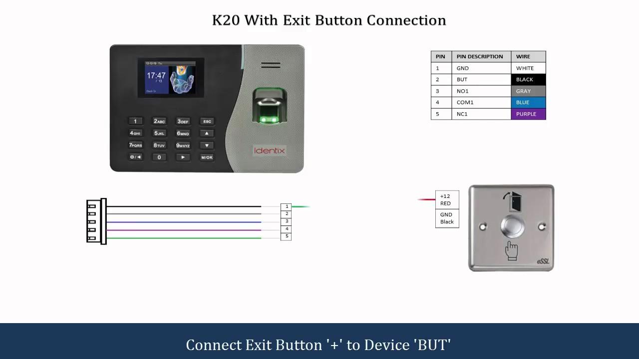 K20 Connection Diagram